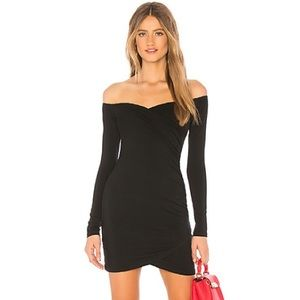 NEW By the Way. X REVOLVE Lucie Ruched Side Dress